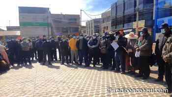Ilave: Dirigentes exigen el inicio de la elaboración de los estudios del proyecto de saneamiento básico - Radio Onda Azul