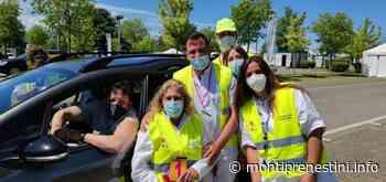 Valmontone: Enrico Brignano vaccinato d'eccezione - Monti Prenestini