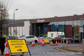 Covid-19: East Renfrewshire vaccine walk-in success - Barrhead News