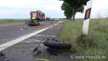 Kreis Helmstedt: Schlimmer Unfall auf der Landstraße! Ein Toter - News38
