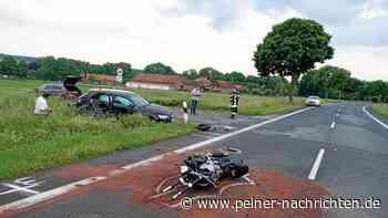 Helmstedt: Tödlicher Unfall - Biker gestorben, drei Verletzte - Peiner Nachrichten