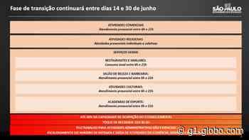 Estado mantém região de Piracicaba na fase de transição, mas recomenda restrições em cidades com ocupação de 90% das UTIs - G1