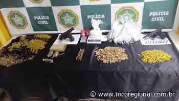 Polícia Civil prende 3 com pistolas e drogas em Barra Mansa - Foco Regional