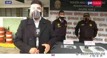 Barranco: capturan a integrantes de banda criminal dedicada al raqueteo - El Comercio Perú