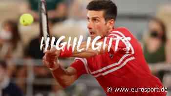 French Open: Novak Djokovic - Rafael Nadal | Halbfinale Herren Einzel - Highlights - Eurosport DE
