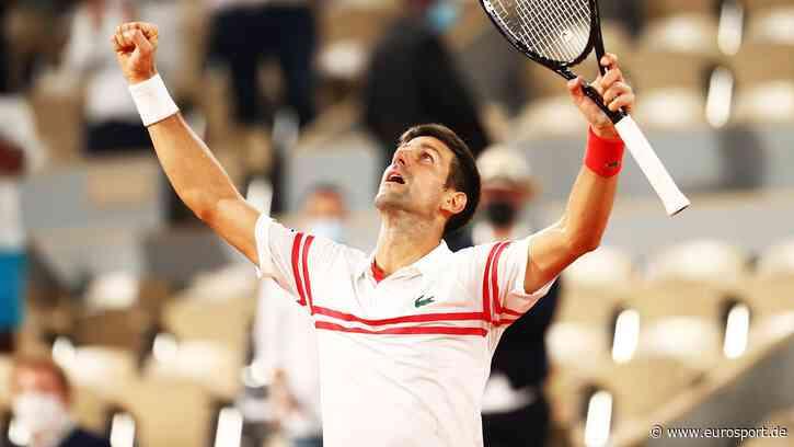 French Open: Novak Djokovic stürzt König Rafael Nadal im Halbfinale von Roland-Garros vom Thron - Eurosport DE