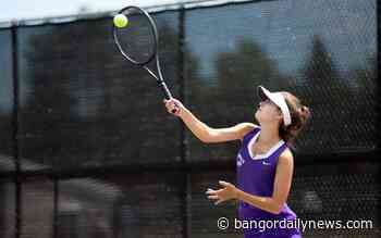 Waterville tops Caribou in B North girls tennis title match - Bangor Daily News