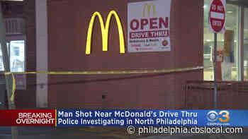 Man Shot Near McDonald's Drive-Thru In North Philadelphia - CBS Philly