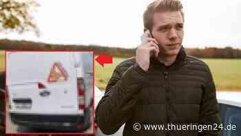 Apolda: Bei diesem Transporter, sollte du die Polizei rufen - Thüringen24