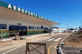 Na reta final, obra no Aeroporto de Cacoal (RO) permitirá voos por instrumentos - AEROIN