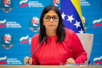 Delcy Rodríguez dice que pagaron a Covax, pero el banco «bloqueó» los recursos - El Nacional