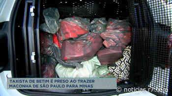 Taxista é preso suspeito de transportar drogas de SP para MG - HORA 7
