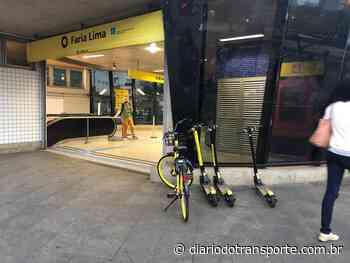 Instalação de escada rolante fecha acesso B da estação Faria Lima a partir da meia noite de sábado (12) - Adamo Bazani