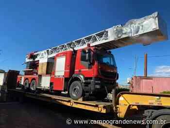 Bombeiros farão simulação em shopping com escada que veio da Alemanha - Campo Grande News