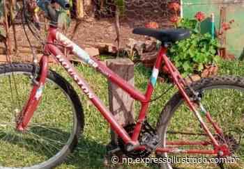 Bicicleta furtada em Santiago - Jornal Expresso Ilustrado