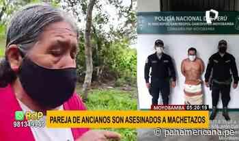 Terror en Moyobamba: ancianos son asesinados a machetazos   Panamericana TV - Panamericana Televisión