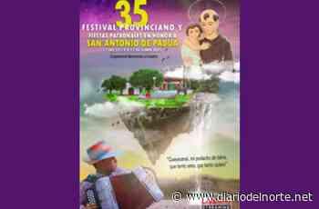 Inician las festividades en honor a San Antonio de Padua y el 35 Festival Provinciano en Guayacanal - Diario del Norte.net