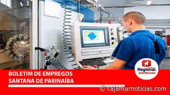 Santana de Parnaíba tem vagas para Operador de Máquinas 11/06 - Cajamar Notícias