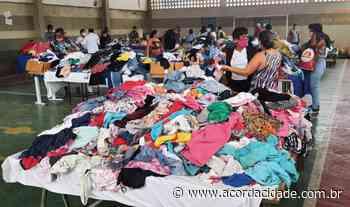 Dispensário Santana realiza bazar beneficente para compra de cestas básicas - Acorda Cidade