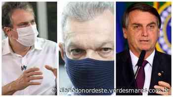 Camilo Santana e Sarto Nogueira criticam Bolsonaro por querer desobrigar uso de máscara - Diário do Nordeste