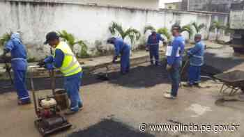Comunidade de Ilha de Santana e Bultrins recebem ação do Arrumando a Casa - Prefeitura de Olinda