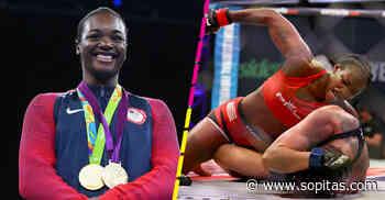 La exmedallista olímpica, Claressa Shields, debuta en las MMA con violenta victoria - Sopitas.com