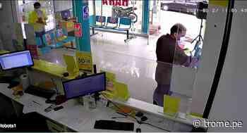 La Victoria: Amarran a trabajador para robar en tienda y los atrapan - Diario Trome
