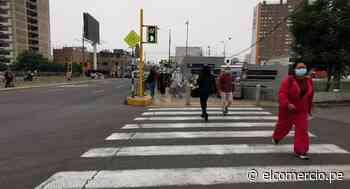 La Victoria: semáforos peatonales fueron instalados en Av. Canadá y alrededores de estación del Metropolitano - El Comercio Perú