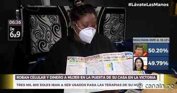 La Victoria: Sujeto robó celular y dinero a mujer en la puerta de su casa - Canal N