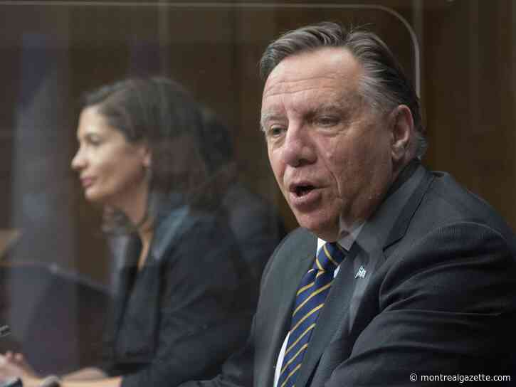 #ICYMI: Legault on being zen, anti-Asian racism denounced, Hickey on Habs, more