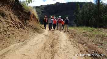 La Libertad: reconstruirán 3,16 kilómetros de camino vecinal de Otuzco LRND - LaRepública.pe