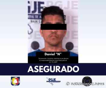 Asegura PGJE a «El Ruso» con droga en Santa Rosalía - Noticias La Paz