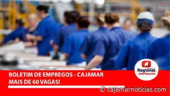 Florend abre vagas de produção em Cajamar 11/06 - Cajamar Notícias