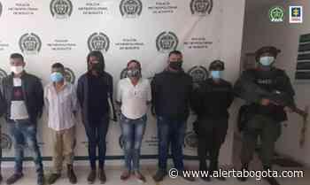 Caen cinco cacos por extorsionar a humildes familias en Ciudad Bolívar - Alerta Bogotá