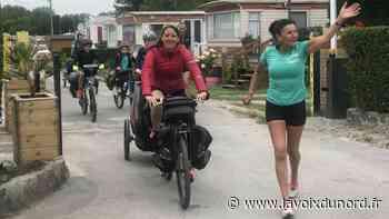 Bergues: 3500km entre vélo et course à pied, l'entraînement version Isabelle Valéra - La Voix du Nord