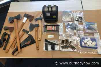 Burnaby investigation into gang-linked drug group leads to Coquitlam raid - Burnaby Now