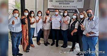 Tlatehui será alcalde de San Andrés; IEE le da constancia de mayoría - Ángulo 7