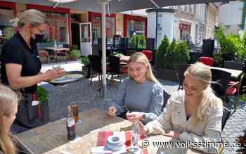 Stendal öffnet Gastronomie - Volksstimme