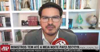 Constantino: 'Extrema esquerda perde nas urnas e tenta governar por meio do tapetão chamado STF' - Jovem Pan