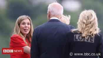 Carrie Johnson to entertain G7 spouses