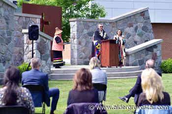 Langley university vigils honour the 215 children buried at Kamloops residential school – Aldergrove Star - Aldergrove Star