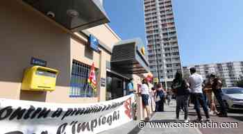 La grève se poursuit à la Poste d'Ajaccio - Corse-Matin