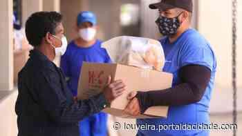Louveira entregará cestas de alimentos na segunda feira (14). - Portal da cidade