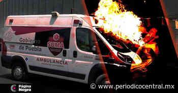 Tragafuego sufre quemaduras durante acto en la colonia Guadalupe Victoria - Periodico Central