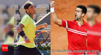 French Open: Novak Djokovic vs Rafael Nadal by the numbers - Times of India