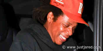 Jay-Z Enjoys a Rare Night Out With Friends in Santa Monica - Just Jared