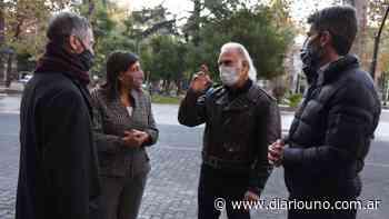 Gustavo Garzón está rodando una película en Mendoza - Diario Uno