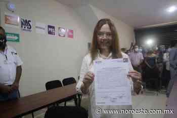 Alma Rosa Garzón recibe constancia de mayoría como Diputada local por el Distrito 20 de Mazatlán - Noroeste