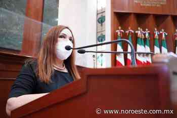 Una revolución pacífica, anunció la Diputada Alma Rosa Garzón, con el triunfo de Morena en Sinaloa - Noroeste