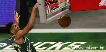 NBA: Antetokounmpo dá cravadas de respeito em vitória dos Bucks; veja - UOL